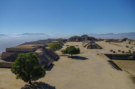 civilization: Monte Alban - the ruins of the Zapotec civilization in Oaxaca, Mexico