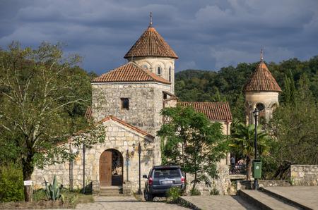 kutaisi: Kutaisi, Georgia - august 25, 2015: Motsameta Monastery Motsameta Church near Kutaisi, the Imereti region of Georgia