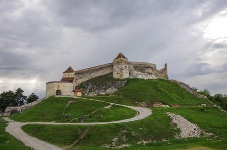 saxon: Medieval fortress in Rasnov, Transylvania, Brasov, Romania