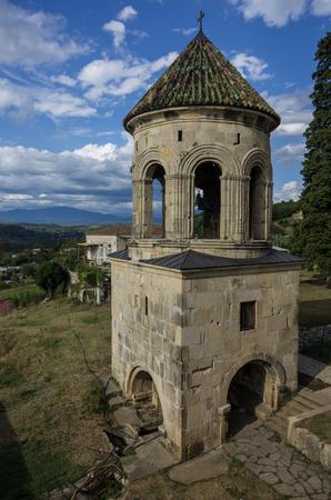 gelati: Gelati, The Monastery of the Virgin, Kutaisi, Georgia Stock Photo