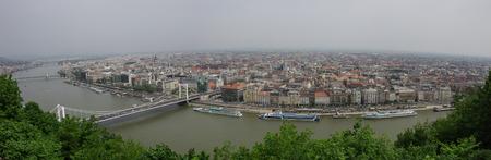 matthias: River Danube and Budapest old city panorama, Budapest, Hungary