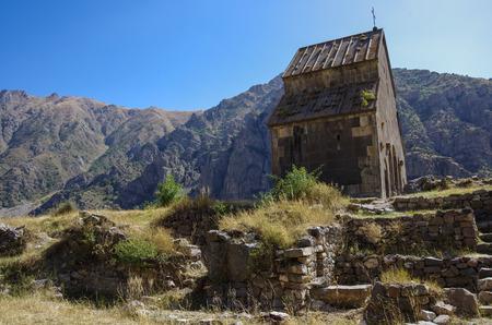 armenian: Zorats Church. Armenian warriors church. Yeghegis, Armenia