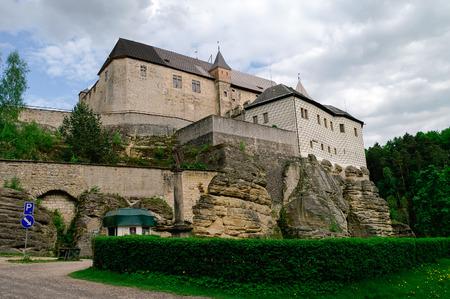 Hrad Kost, Kost Castle, gothic medieval castle near Turnov, Czech Republic