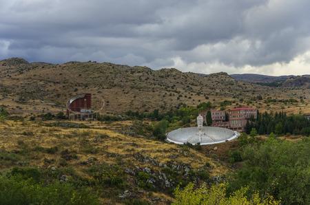 astrophysical: Radio telescope in Byurakan Astrophysical Observatory, Armenia