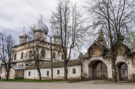 veliky: Znamensky Cathedral. Veliky Novgorod, Russia