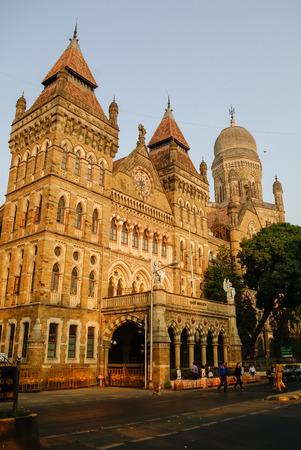 municipal: The Brihanmumbai Municipal Corporation (BMC) Building, Mumbai Editorial