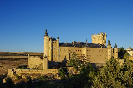 alcazar: The famous castle Alcazar of Segovia, Castilla y Leon, Spain Editorial