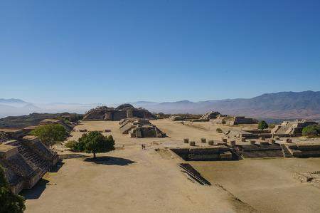 oaxaca: Monte Alban - the ruins of the Zapotec civilization in Oaxaca, Mexico