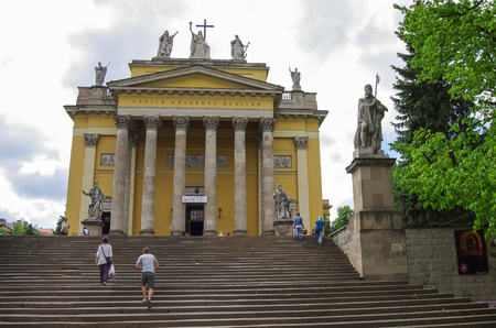 Basilica of St. John the Apostle in Eger, Hungary