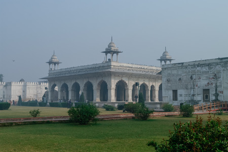 View of Diwan i Khas in Red Fort, Delhi, India