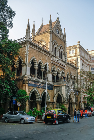 Mumbai, India - January 1, 2012: Historic David Sassoon Library and Reading Room in downtown Mumbai.