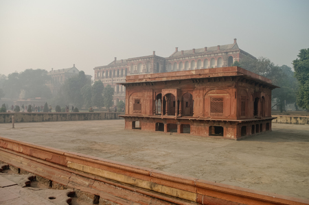 heritage protection: Zafar Mahal in Red Fort, Delhi, India