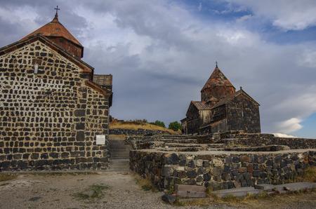 monastic: Sevanavank (Sevan Monastery), a monastic complex located on a shore of Lake Sevan in the Gegharkunik Province of Armenia