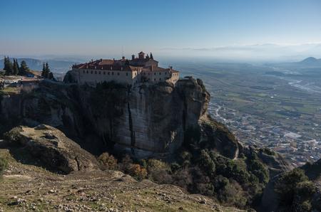 St Stefan Monastery in Meteora rocks, meaning