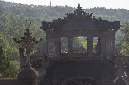 Imperial Khai Dinh Tomb in Hue, Vietnam