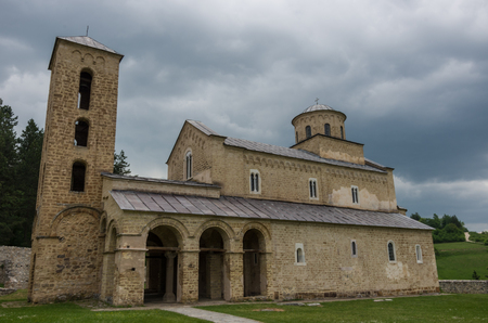 Serbian Orthodox Monastery Sopocani, 13th Century, Serbia