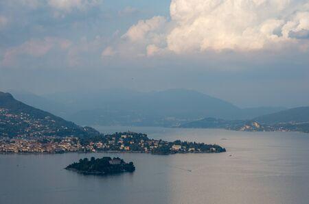 Isola Madre, one of the three principal Borromean Islands on Lake Maggiore. Italy