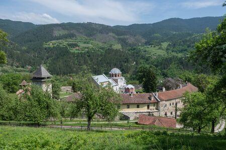 Studenica monastery, 12th-century Serbian orthodox monastery located near city of Kraljevo