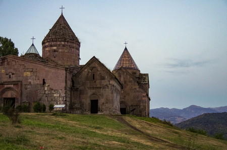 Medieval Goshavank Monastery. Dilijan area, Armenia. 版權商用圖片