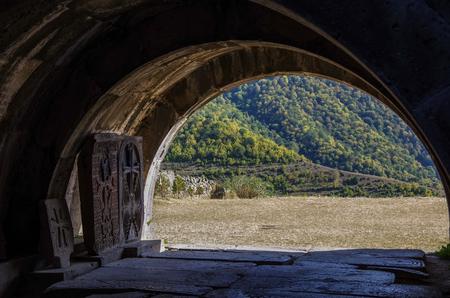 Medieval Armenian monastic complex Haghpatavank, Haghpat Stock Photo