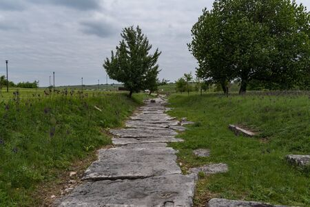 Nikopolis ad Istrum -Ruins of old Rome town in Bulgaria, near Veliko Tarnovo.