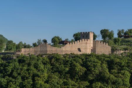 Trapezitsa fortress, Veliko Tarnovo in Bulgaria. Editorial