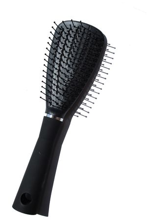Isolated combbrush as tool for barber Stock Photo - 3209740