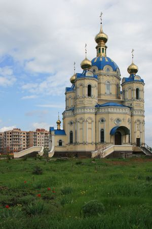 lugansk: Religion building Orthodox Church In Lugansk Ukraine