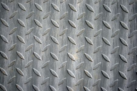 holed: Industrial metal background rough textured abstract  Stock Photo