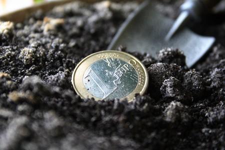 Concept of profit: Treasure of the liliputian - 1 euro