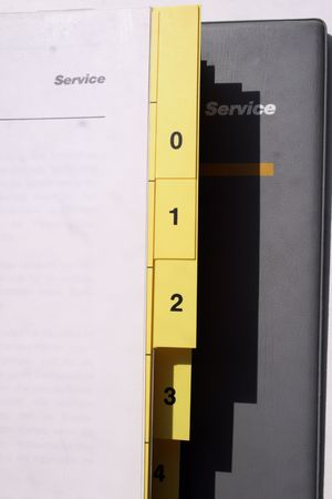 directory book: cars service book