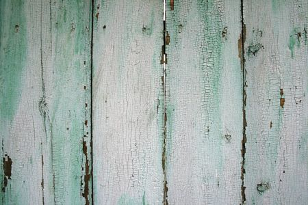 painted wood fence photo