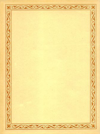 antiquarian: endpaper of antiquarian books with color border