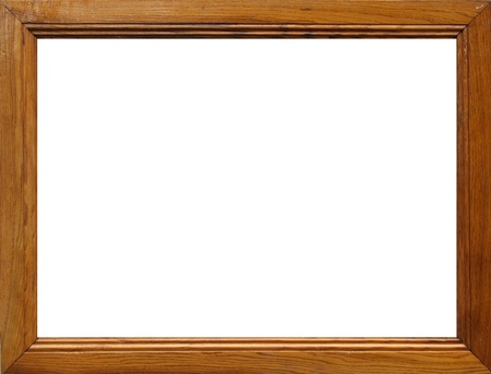 mirror frame: Wooden frame for paintings or photographs