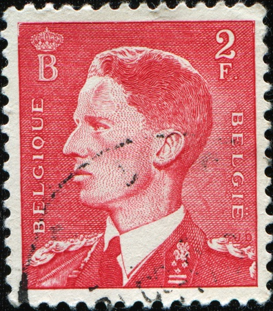 BELGIUM - CIRCA 1950: stamp printed by Belgium, shows Leopold III, circa 1950 Stock Photo - 8523878