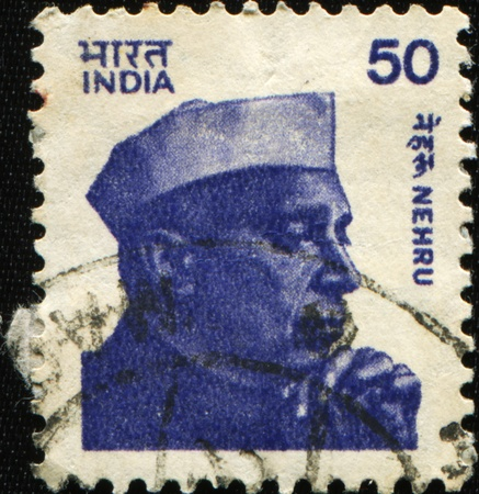 INDIA - CIRCA 1983: A stamp printed in India shows Jawaharlal Nehru (d. 1964), India's longest serving Prime Minister, circa 1983 Stock Photo - 9065973