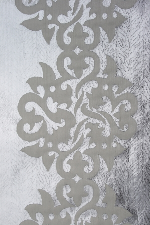 fragment of antique textile with oriental symmetry pattern Stock Photo - 9340982