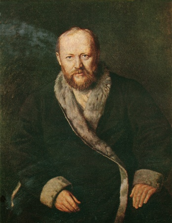 vasily: Alexei Ostrovsky, a portrait of Vasily Perov, 1871, from the collection of the State Tretyakov Gallery, Moscow Editorial