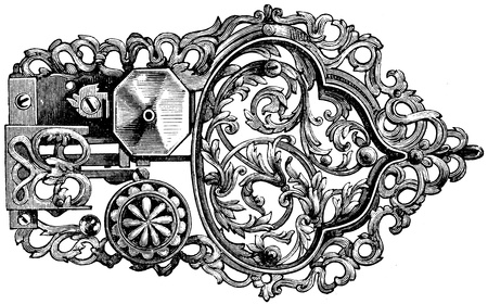 17th: lock, Germany, 17th century - an illustration to article