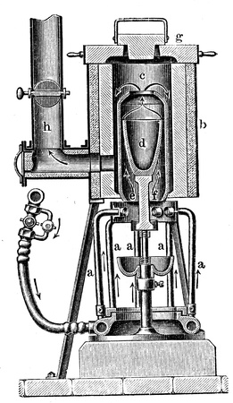 furnace: gas  furnace - an illustration to article