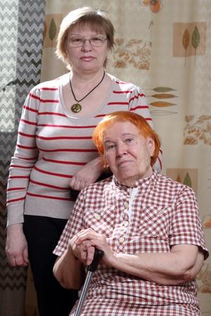 eldery and senior womans photo