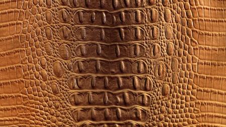 clever fake crocodile leather background Standard-Bild