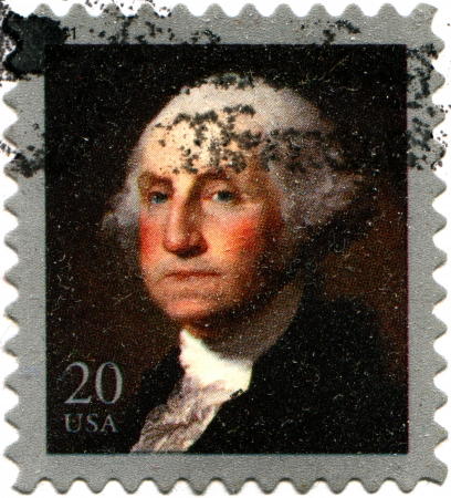 USA - CIRCA 2011  A stamp printed in United States shows George Washington, circa 2011  Stock Photo - 14147997