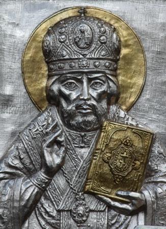almighty: Metallo icona di Ges� Cristo, il Signore Onnipotente