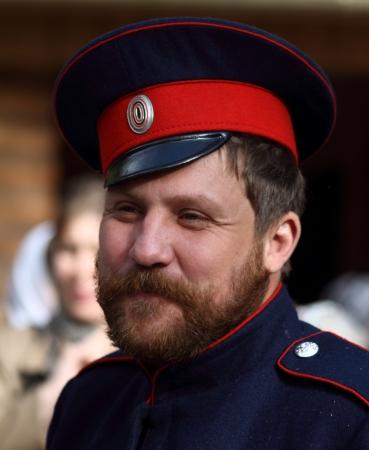 LUGANSK - OCT 14  Don Cossack , celebration of the Protection of the Mother of God, Lugansk, Ukraine, October 14, 2012 Stock Photo - 16283936