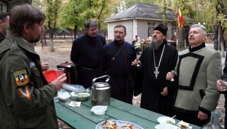 lugansk:  LUGANSK - OCT 14  Don Cossack