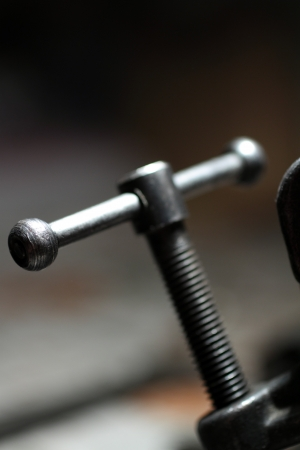 antique screw with handle Stock Photo - 17253987