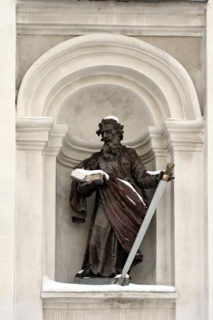 apostle paul: sculpture the Apostle Paul