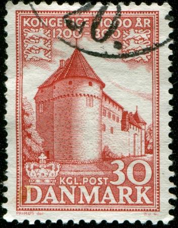 BELGIUM - CIRCA 1935  a stamp printed in the Belgium shows Train under the Bridge, Centenary of Belgian State Railway, circa 1935  Stock Photo - 17262037