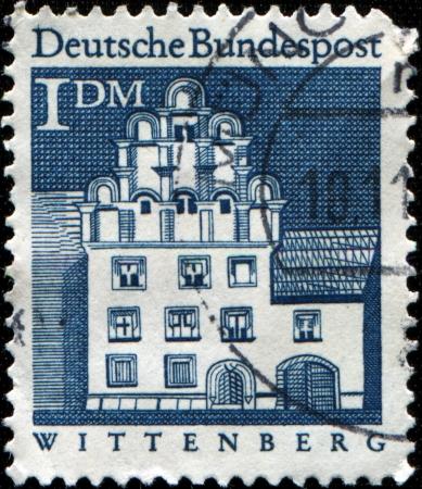 trachten:  AUSTRIA - CIRCA 1949  A stamp printed in Austria shows  woman in national dress, Vorarlberg, Bregenzer Forest, circa 1949